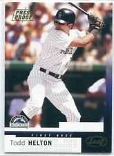 2004 Leaf #131 Todd Helton - Colorado Rockies