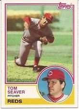 1983 Topps Tom Seaver #580 Baseball Card