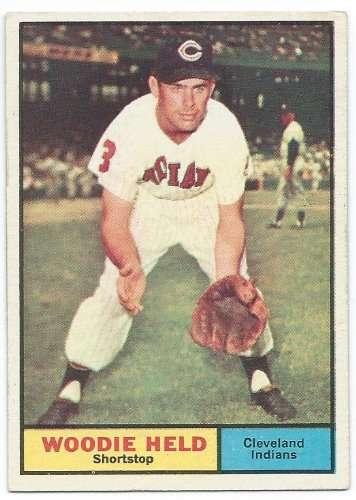 1961 Topps #60 Woody Held