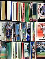 100 Assorted Anaheim Angels Baseball Cards Plus Twelve 9-Pocket Storage Pages (stores up to 216 cards)