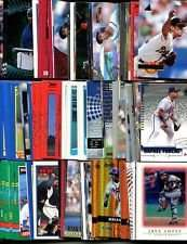 100 Assorted Atlanta Braves Baseball Cards Plus Twelve 9-Pocket Storage Pages (stores up to 216 cards)