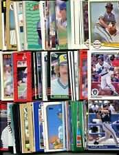100 Assorted Milwaukee Brewers Baseball Cards Plus Twelve 9-Pocket Storage Pages (stores up to 216 cards)