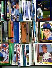 100 Assorted New York Mets Baseball Cards Plus Twelve 9-Pocket Storage Pages (stores up to 216 cards)
