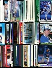 100 Assorted Toronto Blue Jays Baseball Cards Plus Twelve 9-Pocket Storage Pages (stores up to 216 cards)