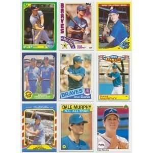 12 Assorted Dale Murphy Baseball Cards