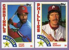 1984 Topps All-Star Baseball 22 Card Set