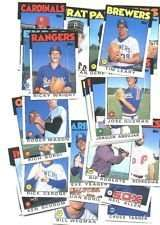 100 Assorted 1986 Topps Baseball Card Commons