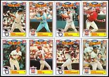 1988 Topps Commemorative Glossy All-Star 22 Card Set