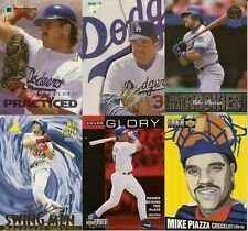 25 Assorted Mike Piazza Baseball Cards In Collectors Display Album