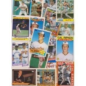 25 Different Cal Ripken Jr... Baseball Cards- Mint Condition