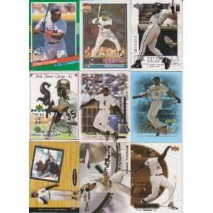 25 Different Frank Thomas Baseball Cards - Mint Condition