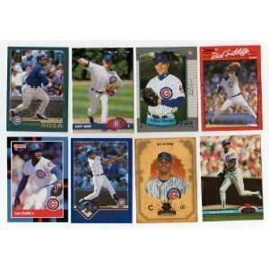 40 Different Chicago Cubs Baseball Cards from 1980-1989 - Shipped in Protective Display Album!