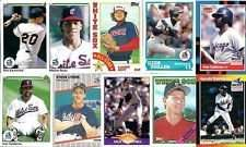 40 Different Chicago White Sox Baseball Cards from 1980-1989 - Shipped in Protective Display Album!