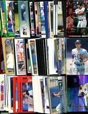 40 Different Detroit Tigers Baseball Cards from 1980-1989 - In Collectors Display Album!