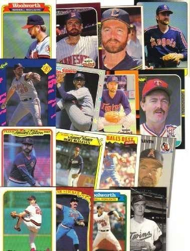 10 Assorted Bert Blyleven Collectors Baseball Cards