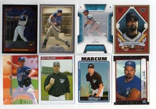 Lot of 100 Different Toronto Blue Jays Baseball Cards