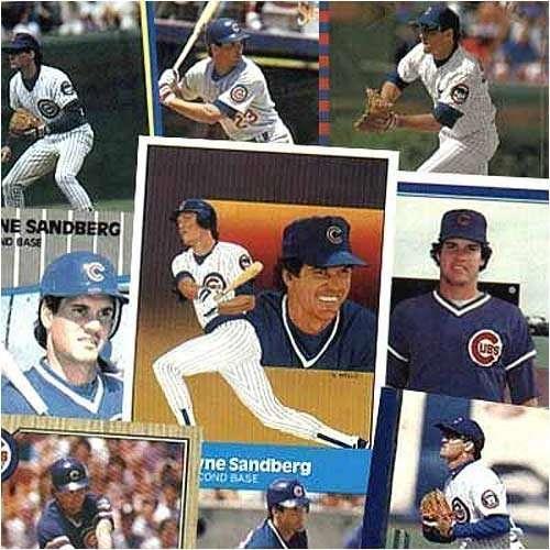 Various Brands Chicago Cubs Ryne Sandberg 20 Trading Card Set