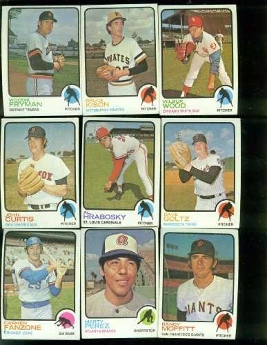 1973 BASEBALL CARDS
