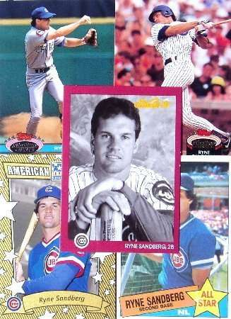 Ryne Sandberg 20-card set with 2-piece acrylic case