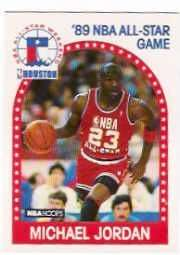 1989-90 Hoops NBA All Star Basketball 24 Card Set.