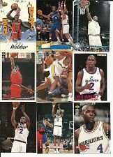 20 Assorted Chris Webber Collectible Basketball Cards