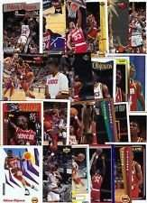 20 Assorted Hakeem Olajuwon Basketball Cards (In Display Album)