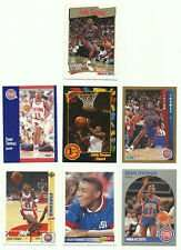 20 Different Isiah Thomas Basketball Cards - Mint Condition In Display Album !!