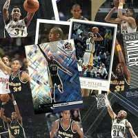 25 Different Reggie Miller Basketball Cards - Mint Condition In Display Album !!