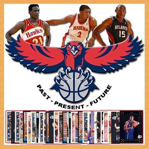 Atlanta Hawks Trading Card Set