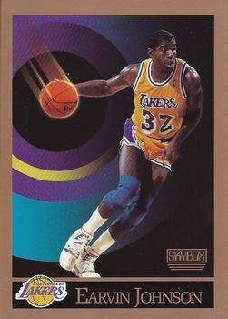 Larry Bird / Magic Johnson 1990 Skybox (2) Card Set (Boston) (Los Angeles)