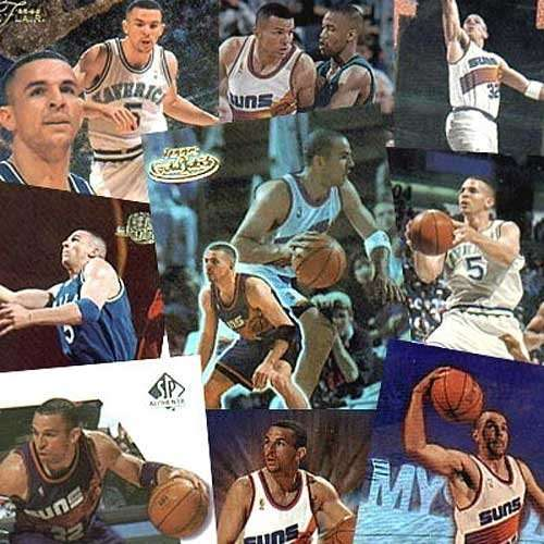 New Jersey Nets Jason Kidd 20 Card Set