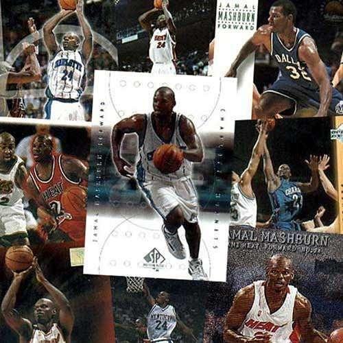 Jamal Mashburn 20 Card Player Set