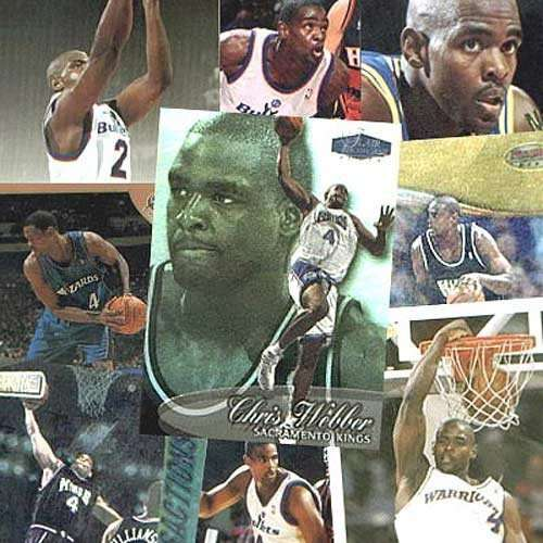 Chris Webber 20 Card Set
