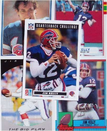 20 Assorted Jim Kelly Football Cards In New Protective Collector's Album