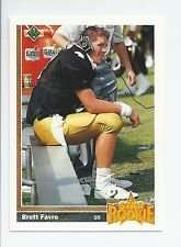1991 Upper Deck Football Factory Sealed Complete 700 Card Set. Brett Favre Rookie