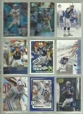 10 Assorted Peyton Manning Football Cards