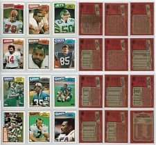 25 Different 1987 Topps Football Cards