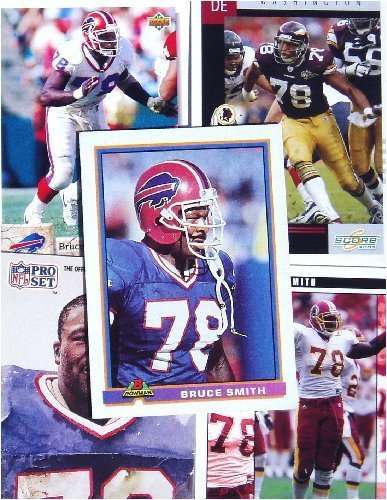 Bruce Smith 20-Card Set
