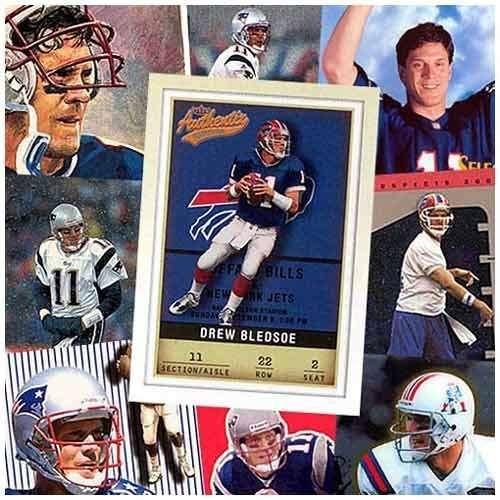 Buffalo Bills Drew Bledsoe 20 Trading Card Set