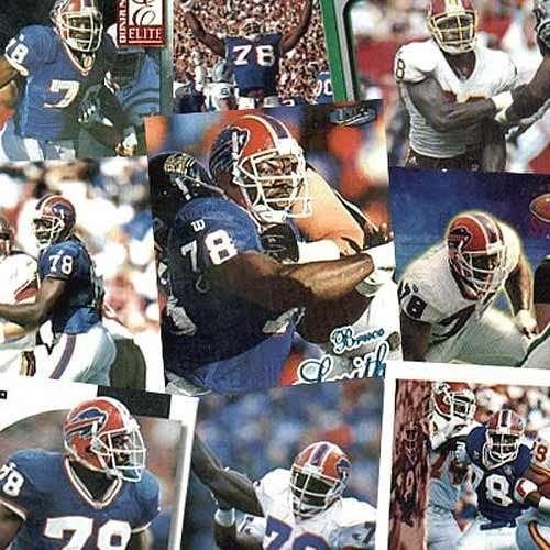Washington Redskins Bruce Smith 20 Trading Card Set
