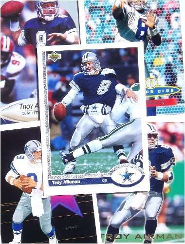 Troy Aikman 20 Card Set with 2-Piece Acrylic Case