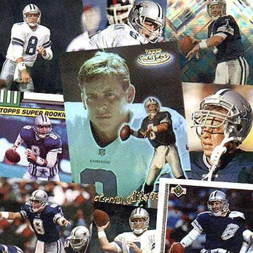 Various Brand Dallas Cowboys Troy Aikman 20 Trading Card Set