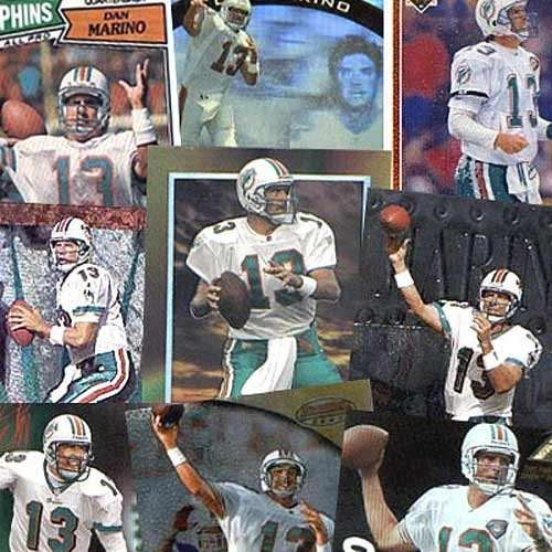 Various Brand Miami Dolphins Dan Marino 20 Trading Card Set