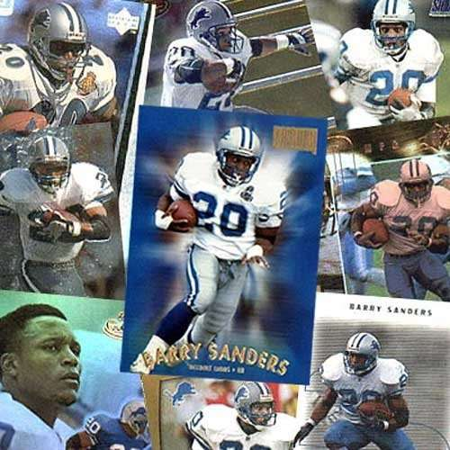 Various Brands Detroit Lions Barry Sanders 20 Trading Card Set