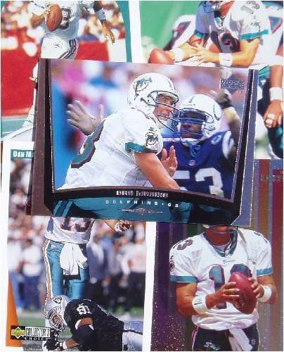 Dan Marino 20-card set with 2-piece acrylic case