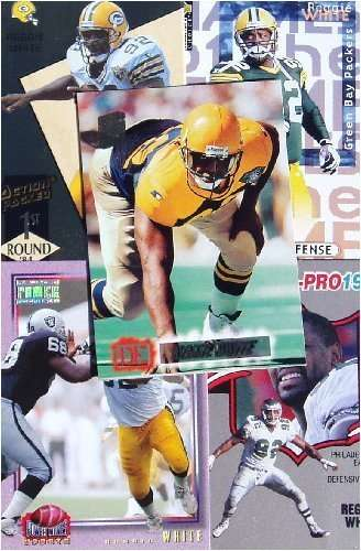 Reggie White 20-card set with 2-piece acrylic case