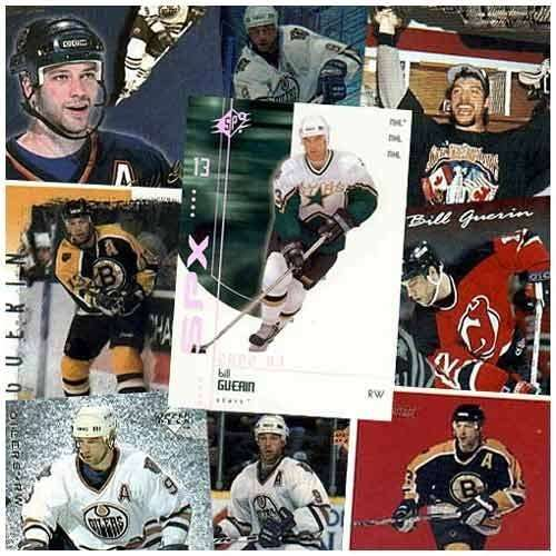 20 Assorted Bill Guerin Cards