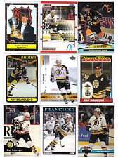 20 Assorted Ray Bourque Collectible Hockey Cards