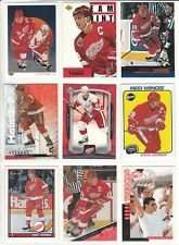 20 Assorted Steve Yzerman Collectible Hockey Cards