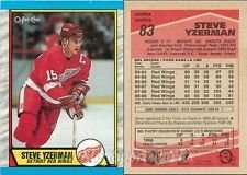 25 Assorted Steve Yzerman Hockey Cards In Collectors Display Album